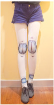SD Joint Doll Harujuku Tatto Pantyhose