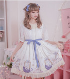 MissCat~ Soft Lolita OP Dress -Ready Made