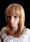 Shoulder Length Blonde Daily Doll Wig