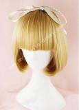 Cute Gold Bobo Lolita Wig