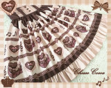 Chocolate Love~ Sweet High Waist Lolita Jumper
