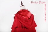 Little Red Riding Hood & Grandma Wolf~ Lolita Cape (Adjustable Length)