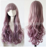 Harajuku Style Sweet Girl's Bicolors Wavy Lolita Wig