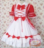 Sweet Bows Short Sleeves Lolita Dress out