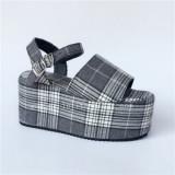 Unique Specific High Platform Lolita Sandals