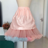 Rainbow Clouds ~ Super Puff Lolita Petticoat 50cm