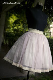 HMHM Shirred Sash Chocolate Lolita Skirts - 3 Colors