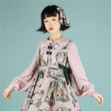 The Small Angle~ Sweet Thick Chiffon Lolita Blouse -Pre-order Closed
