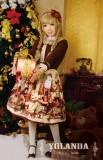 Teddy Home College School Style Skirt L+Headdress-  IN STOCK