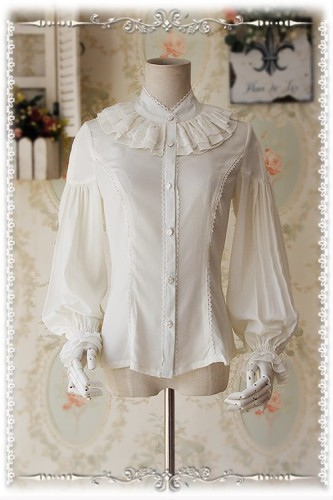 Infanta ***Swan Lake*** Puffy Long Sleeves Lolita Blouse -Special Price