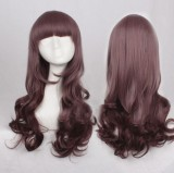 Sweet Brown Long Curls Lolita Wig