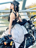 The Locomotive Madien Punk Style Lolita JSK -Pre-order
