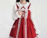 Sugar Trojan~ Sweet Set-in Sleeves Lolita Blouse -Short/Long Sleeves 2 Ways