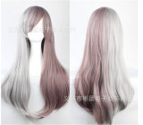 Sweet Girl's Face Framing Cosplay Long Straight Wig