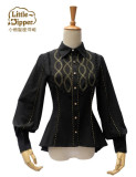 Little Dipper Magic Apprentice~ Elegant Slim Lolita Blouse -Ready Made