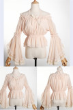 Rock Candy Chiffon Hime Sleeves Inner Lolita Blouse