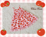 Cherry Tomato ~Sweet High Waist Dailywear Lolita Jumper