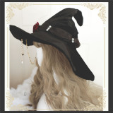 Ruby Rabbit ~Witch Parade~ Velvet Witch Hats for Halloween
