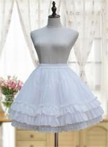 A-line Shaped Chiffon Lolita Skirt/Petticoat