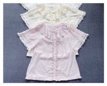 Little Dipper ~Sweet Chiffon Lolita Blouse -Ready made