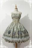 Neverland Lolita ~ Raphael's Singing~ Lolita Normal Waist JSK Dress