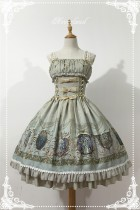 Neverland Lolita ~ Raphael's Singing~ Lolita Normal Waist JSK Dress