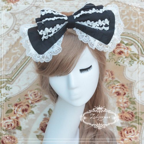 Sweet Lolita Headbow - 5 Colors Available