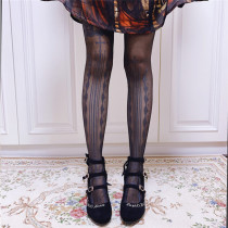 Ruby Rabbit ~Witch Thin Lolita Tights