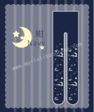 Sweet Moon Star White Cloud Prints Lolita Tights