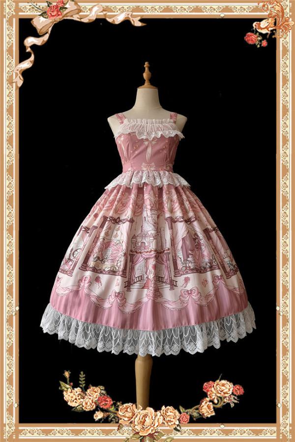 Infanta ~Sleeping Beauty- Maleficent Lolita Jumper -Ready Made