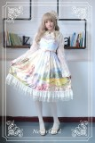 Neverland Lolita ~The Song of The Lark~ Sweet Vintage Lolita Jumper Dress