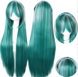 Vocaloid Green 80cm Long Lolita Straight Wig