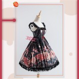 The Clock Adventure~ Sweet Lolita JSK Dress Version II