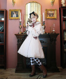 Pumpkin Cat ~ Winter  Lolita Long Jacket With Cape In Stock