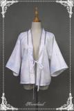 Hyakki Yakō Yuki-onna***  Lolita Printed Haori + Skirt