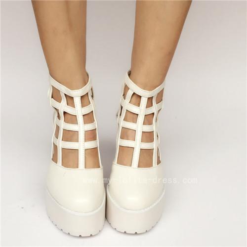 Beautiful Stars Lolita Shoes with Back Zipper