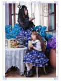 Black Cat Nebula~ Gothic Lolita JSK for Kids - Ready Made