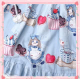 Puppet Alice Sweet Printed Lolita JSK-Ready Made