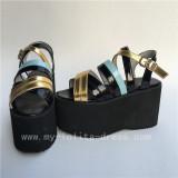 Colorful Candy Colors Straps Lolita Sandals