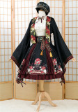 Fantasic Wind/Rabbit Teeth ~Peony Dazzling Lolita Set -Ready Made