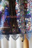 Rosary~ High Waist Lolita Printed OP Dress