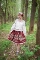 Fleurs et écho~ Lolita Skirt