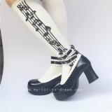 Black Classic Lolita Princess Shoes
