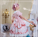 Magic Tea Party ~Summer of White Bear Lolita OP -Ready Made