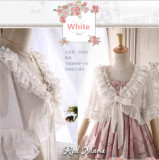 Red Maria Lolita ~Twilight Moon Lolita Bolero Short/Long Version preorder closed