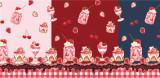 Infanta Strawberry Ice Cream Lolita Jumper -Ready Made