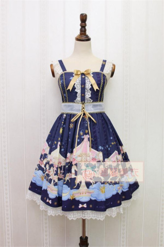 Alice Girl~ Merry-go-round~ Lolita JSK -In Stock