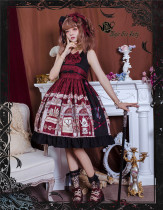 Magic Tea Party ~Miss Jasmine Winter Lolita JSK -Ready Made