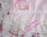 Pink Gingham Lolita Sweet Frillies