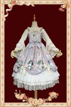 Infanta ~A Portrait of A Little Lady~ Printed Lolita JSK -Ready Made